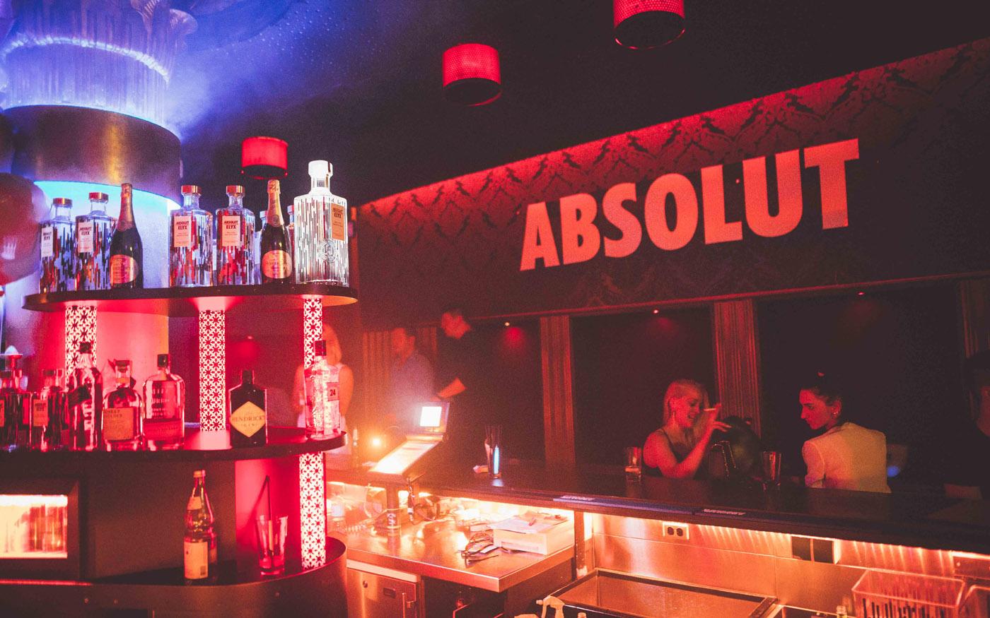 ABSOLUT Bar im Moondoo