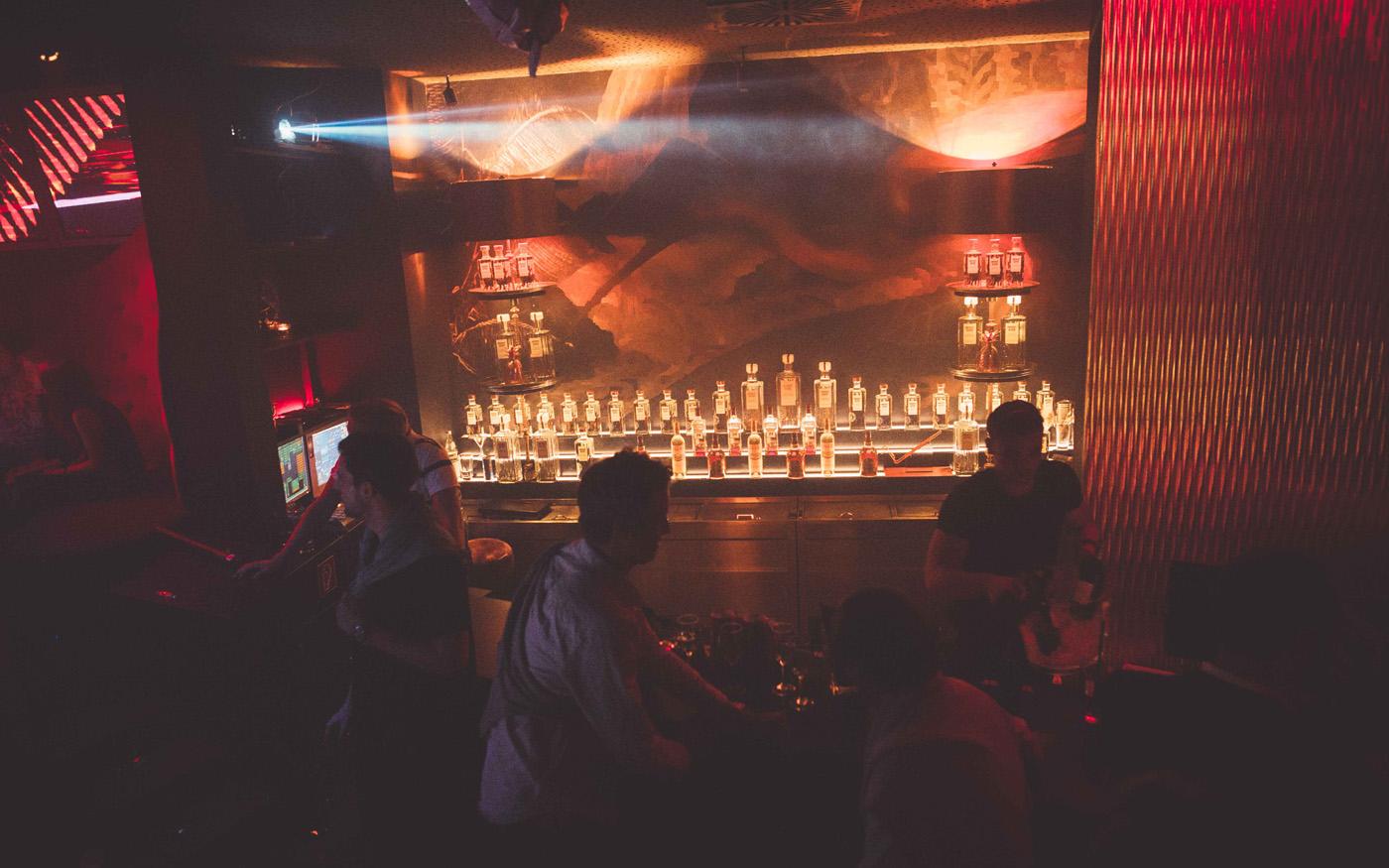 Bar im Moondoo Hamburg