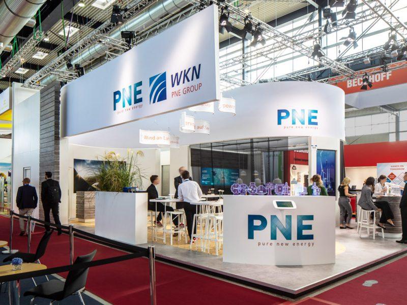 WKN und PNE auf der Husum Wind 2019