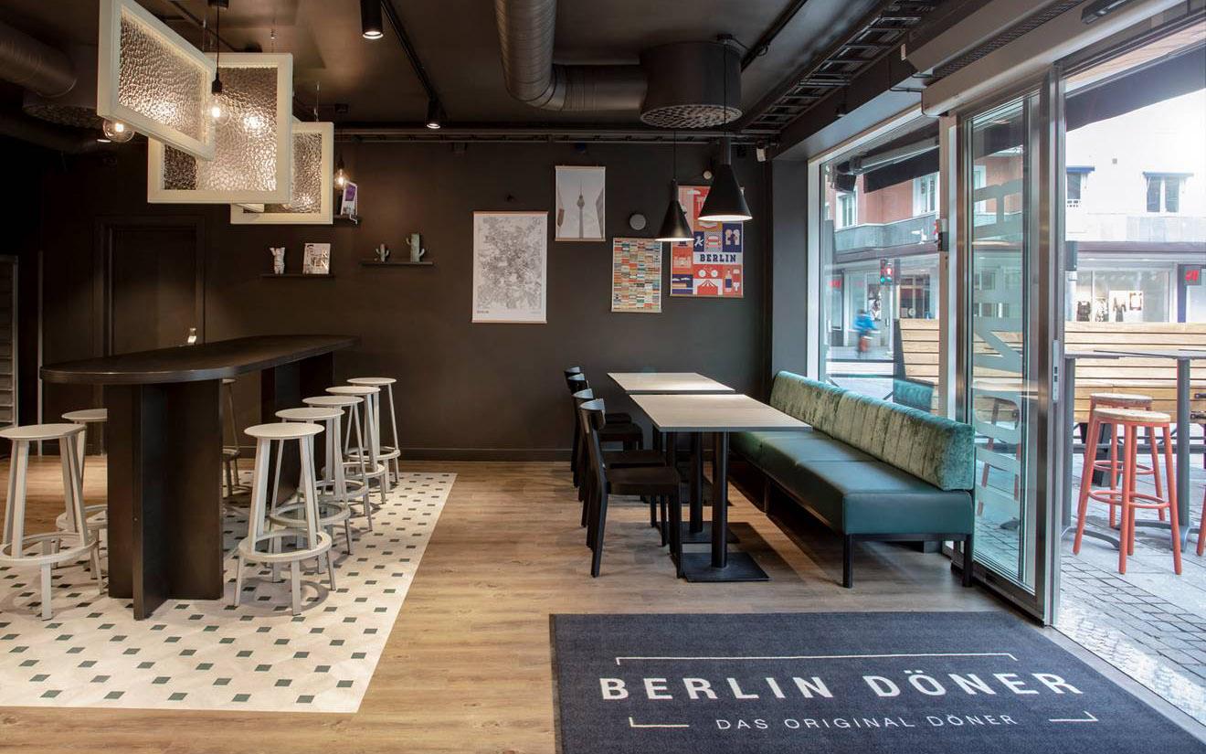 Berlin Döner Interior Design Schweden