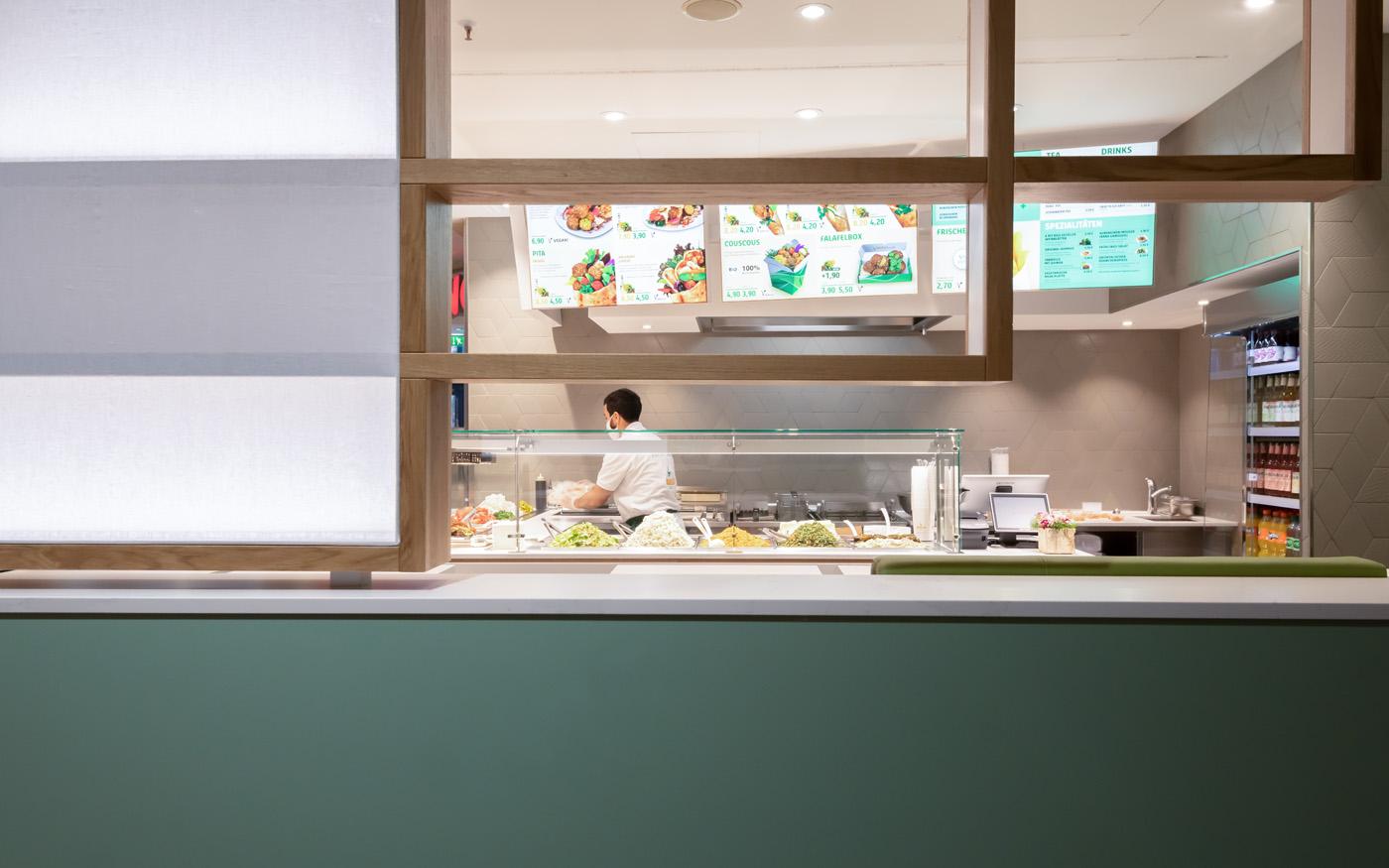 Falafel Gastronomie Design