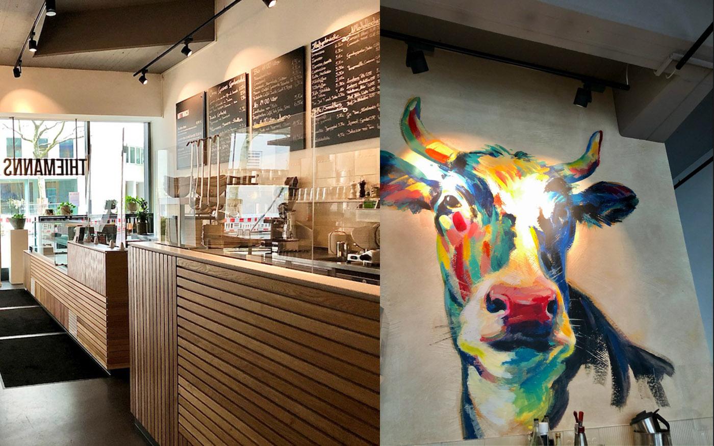 Feines und Regionales Thiemanns Cafe Interior Design