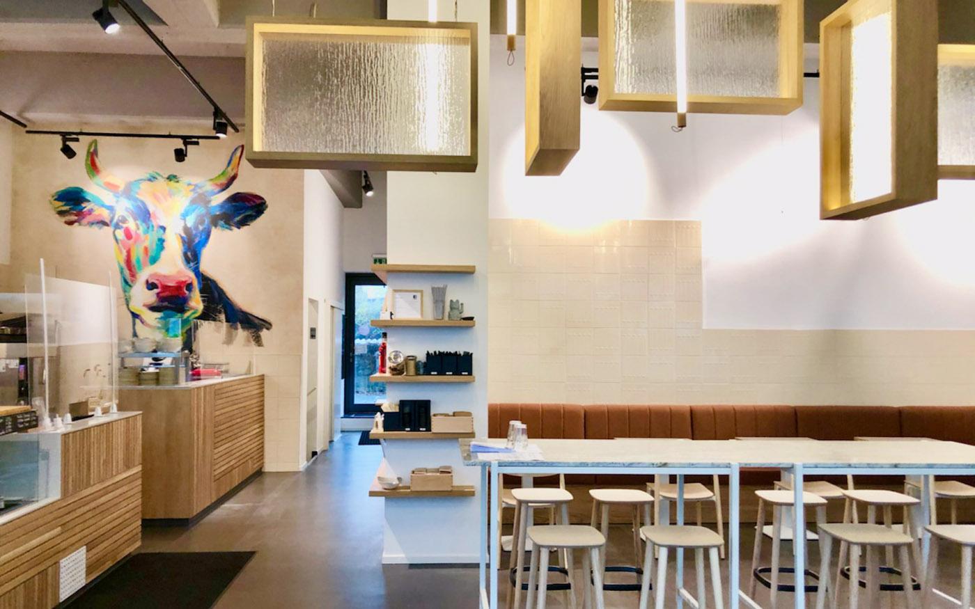 gutes Essen für die Hamburger Innenstadt Interior-Design
